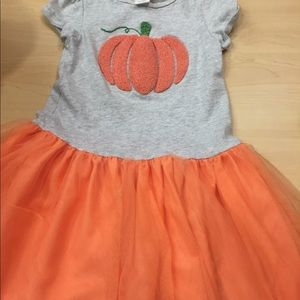 GYMBOREE PUMPKIN DRESS SZ 5T